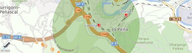 Mapa Santa Isabel