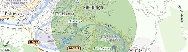 Mapa Doneztebe