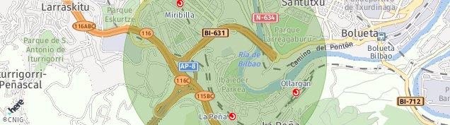 Mapa La Peña