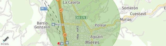 Mapa Las Casetas