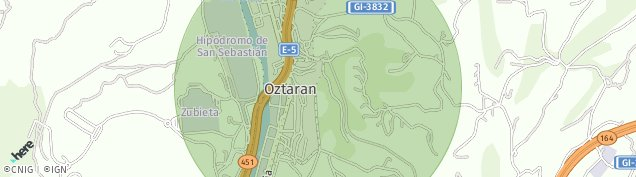 Mapa Larrekoetxe
