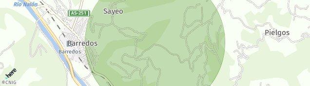 Mapa Casacabada