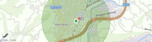 Mapa Hernani