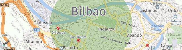 Mapa Bilbao