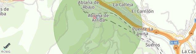 Mapa Ablaña