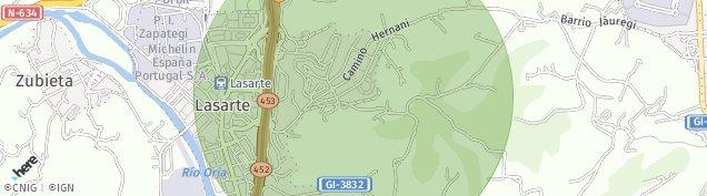 Mapa Lasarte-Oria