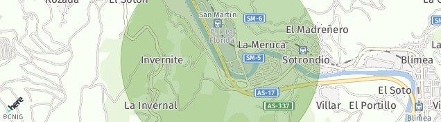 Mapa La Peñona