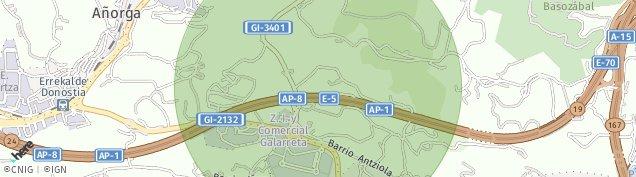 Mapa Añorga