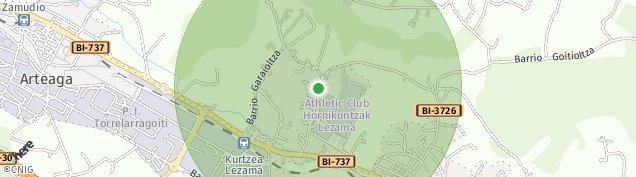 Mapa Goitioltza