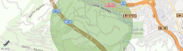 Mapa San Bizenti-Barakaldo