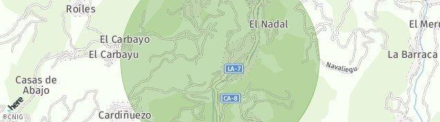 Mapa Ciaño