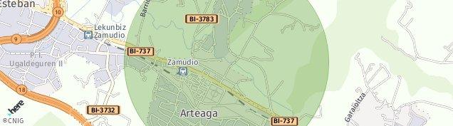 Mapa Aranoltza-San Antolin