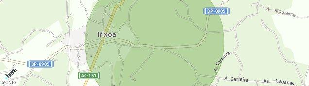 Mapa Irixoa