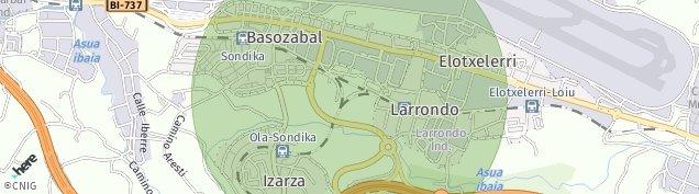 Mapa Sondika