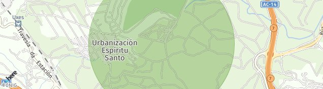 Mapa Monte Das Arcas