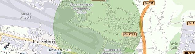 Mapa Elexalde Derio