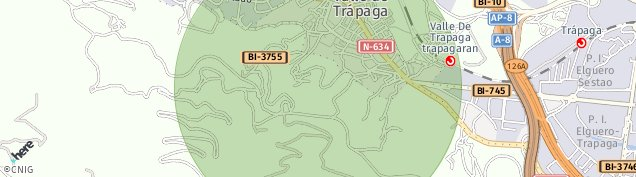 Mapa Urioste