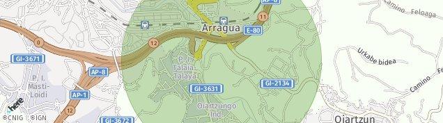 Mapa Errenteria