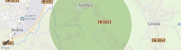 Mapa Arana