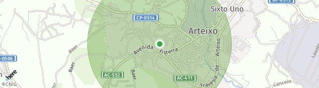 Mapa Arteixo