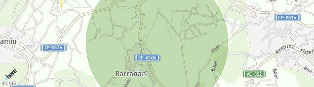 Mapa Barrañan