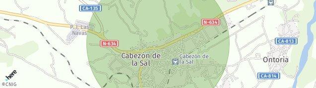 Mapa Cabezón de la Sal