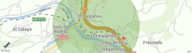 Mapa Soto de Rey
