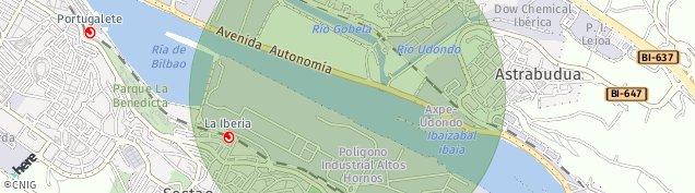 Mapa Sestao