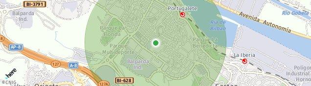 Mapa Portugalete