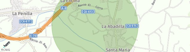 Mapa La de Cayon Penilla