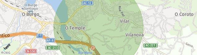 Mapa O Temple