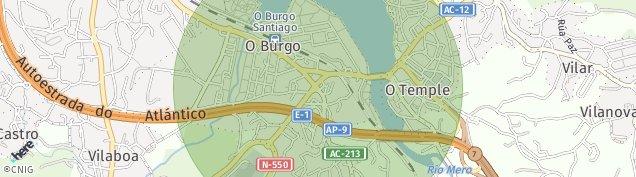 Mapa O Burgo