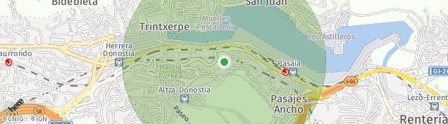 Mapa Pasai Antxo