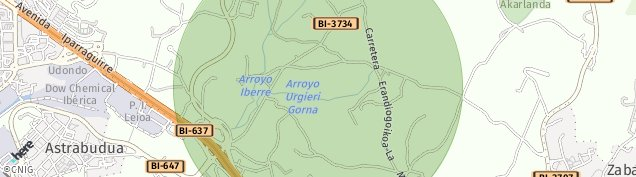 Mapa Astrabudua