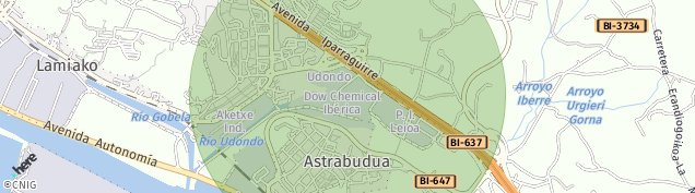 Mapa Ondiz