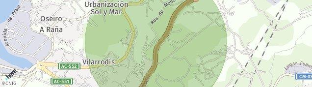 Mapa Vilarrodis