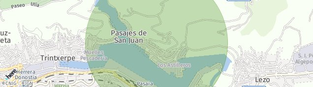 Mapa Pasai Donibane