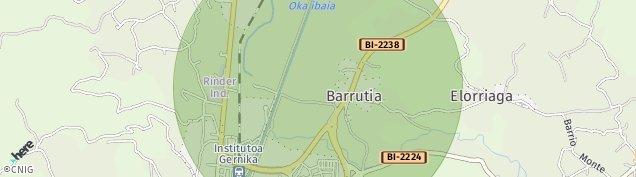Mapa Barrutia