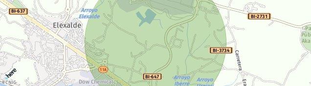 Mapa Leioa