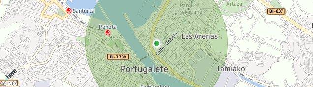 Mapa Las Arenas