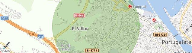 Mapa El Villar
