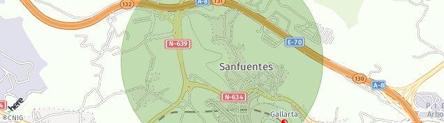 Mapa Gallarta