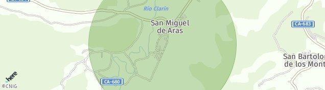 Mapa San Miguel de Aras