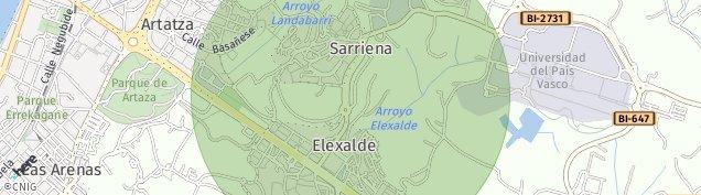 Mapa Sarriena