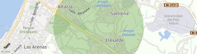 Mapa Sakoneta
