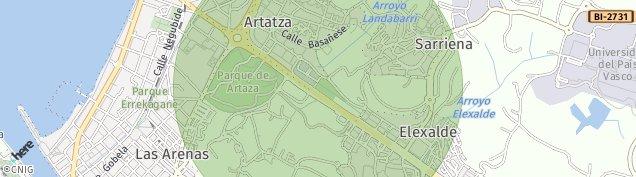 Mapa Artatzagane