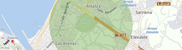 Mapa Lamiako