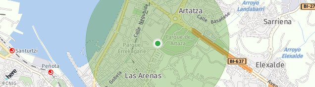 Mapa Los Pinos