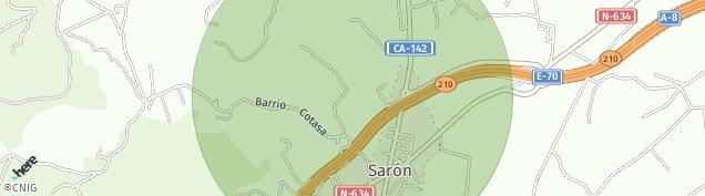 Mapa Saron