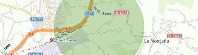 Mapa Tanos